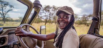 Women Guides on Safari